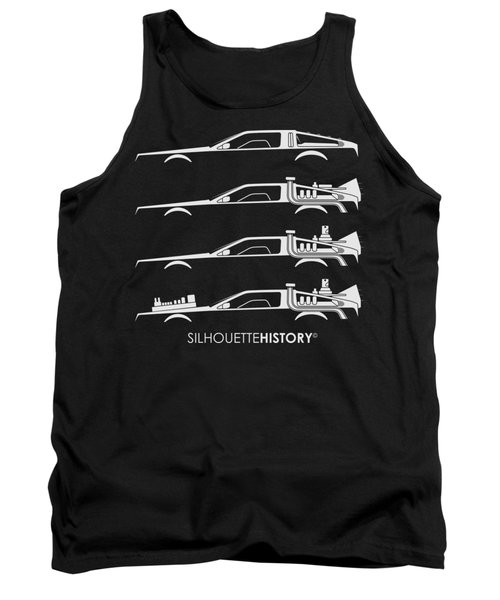 Time Machine Silhouettehistory Tank Top