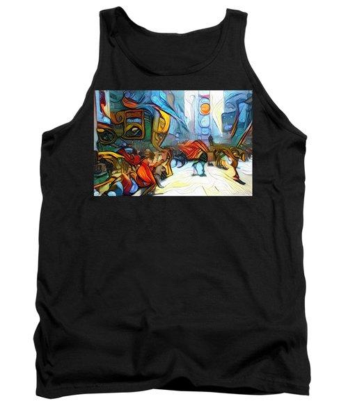 Times Square Tank Top