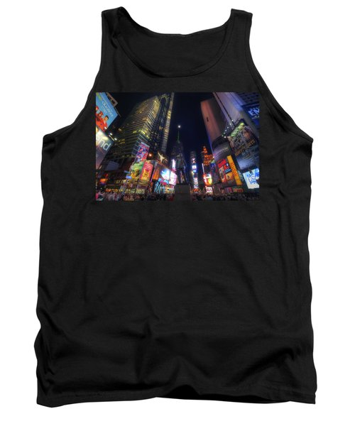 Times Square Moonlight Tank Top by Yhun Suarez