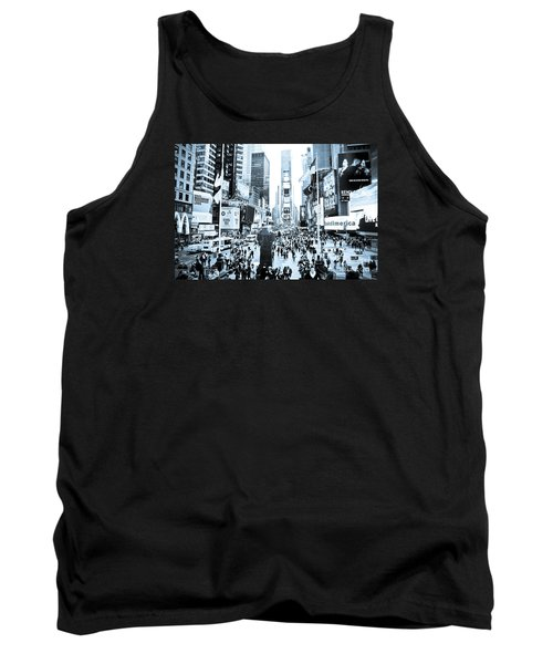 Times Square Tank Top by Perry Van Munster