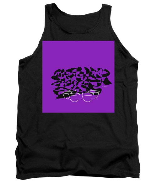Timpani In Purple Tank Top by David Bridburg