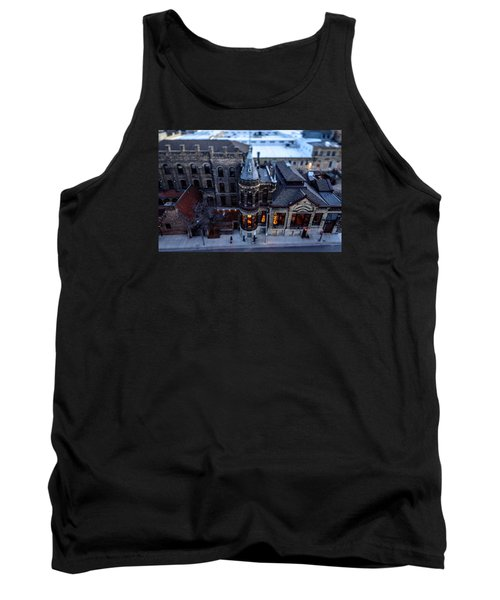 Tiny Pabst Castle Tank Top
