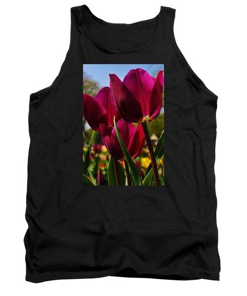 Tip Toe Through The Tulips Tank Top