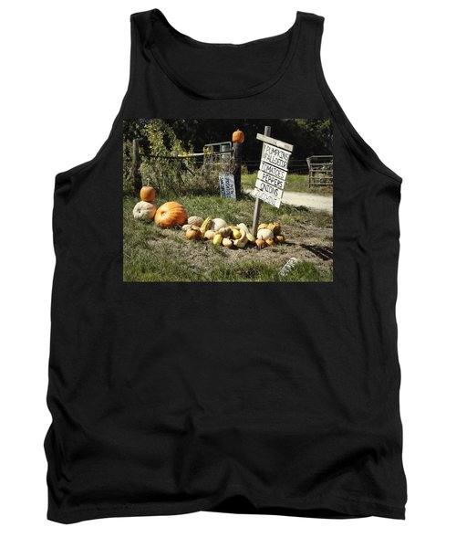 Tank Top featuring the photograph Today's Harvest by Cricket Hackmann