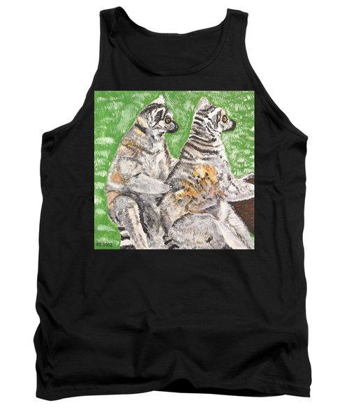 Together Tank Top by Valerie Ornstein