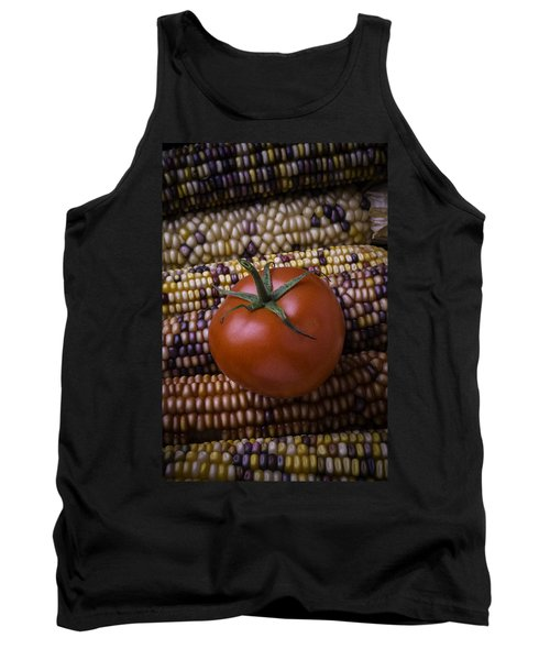 Tomato On Indian Corn Tank Top