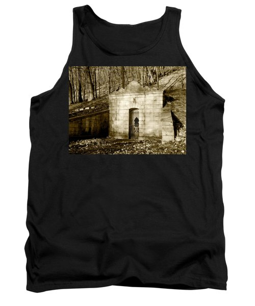 Tomb With A View In Sepia Tank Top