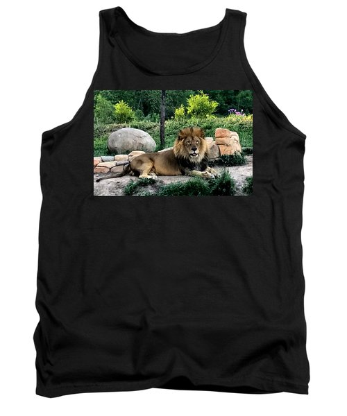 Tomo, The King Of Beasts Tank Top