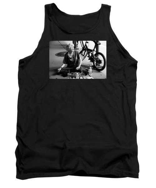 Tank Top featuring the photograph Too Much Homelessness by Monte Stevens