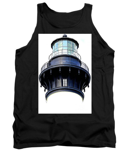 Top Of The Lighthouse Tank Top by Shelia Kempf
