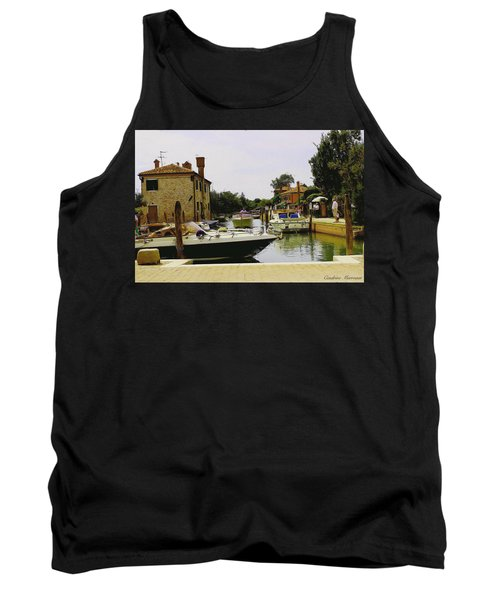 Tank Top featuring the photograph Torcello Island by Cendrine Marrouat