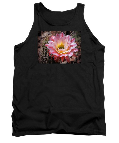 Torch Cactus Flower Tank Top by Elaine Malott