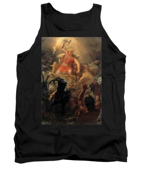 Tor's Fight With The Giants Tank Top