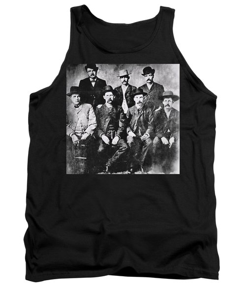 Tough Men Of The Old West Tank Top