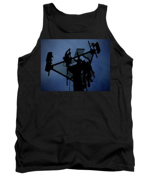 Tower Top Tank Top by Robert Geary