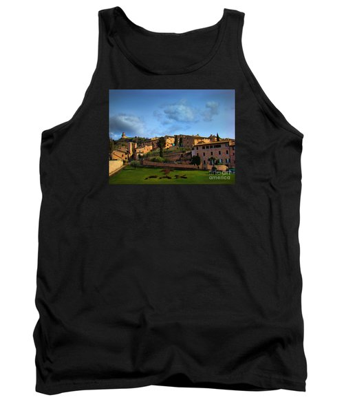 Town Of Assisi, Italy II Tank Top by Al Bourassa