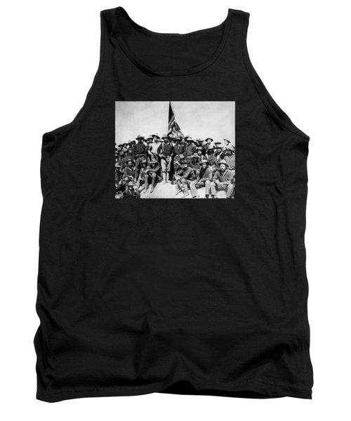 Tr And The Rough Riders Tank Top