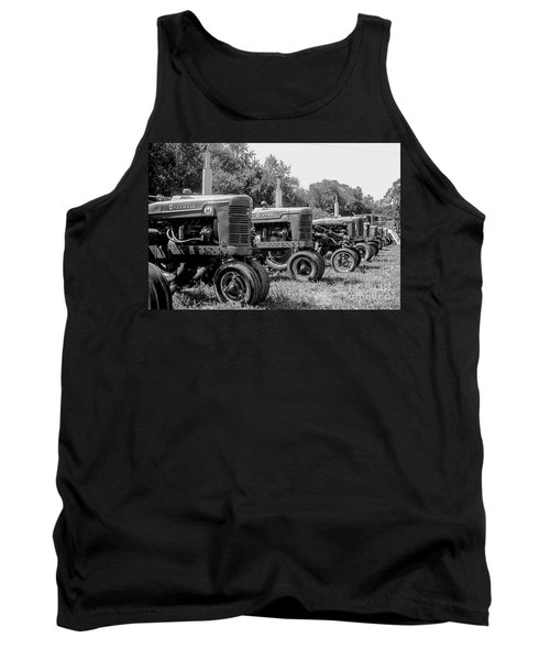 Tractors Tank Top by Brian Jones