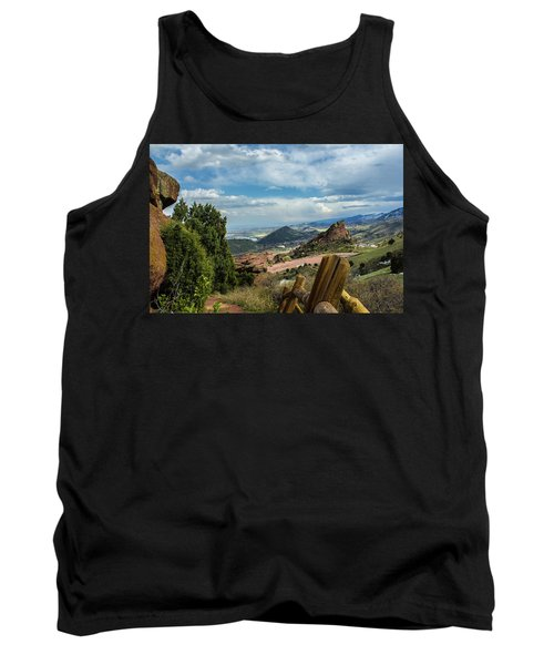 Trails At Red Rocks Tank Top