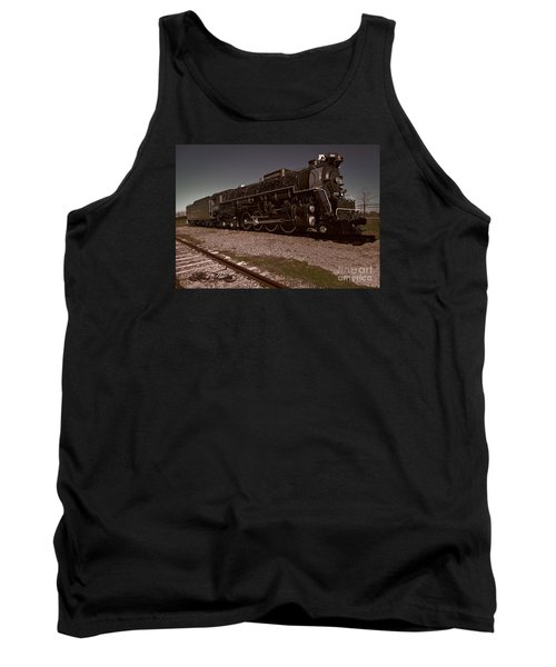Train Engine # 2732 Tank Top by Melissa Messick