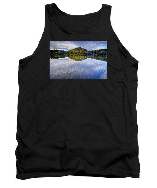 Trakoscan Lake In Autumn Tank Top