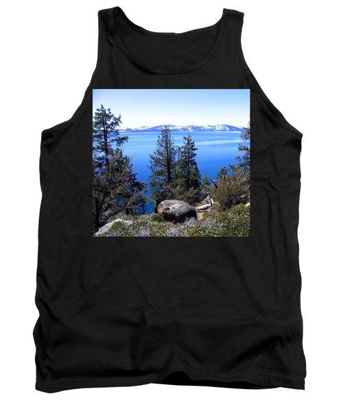 Tranquil Lake Tahoe Tank Top