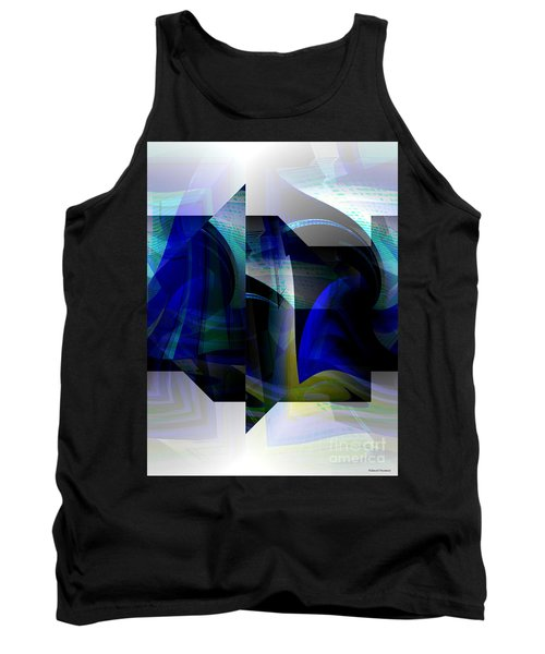 Geometric Transparency  Tank Top by Thibault Toussaint