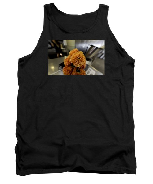 Tank Top featuring the photograph Treats At The Ice Cream Parlor by Lora Lee Chapman