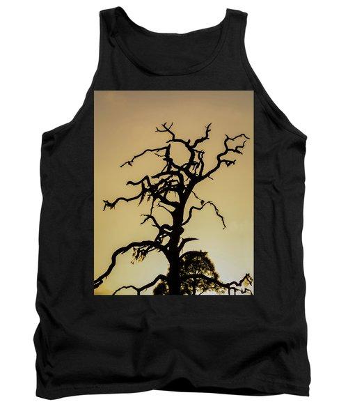 Tree Silhouette Tank Top