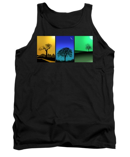 Tree Triptych Tank Top