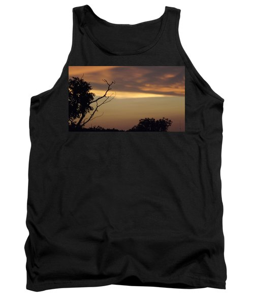 Trees Of The Lake Tank Top by Don Koester