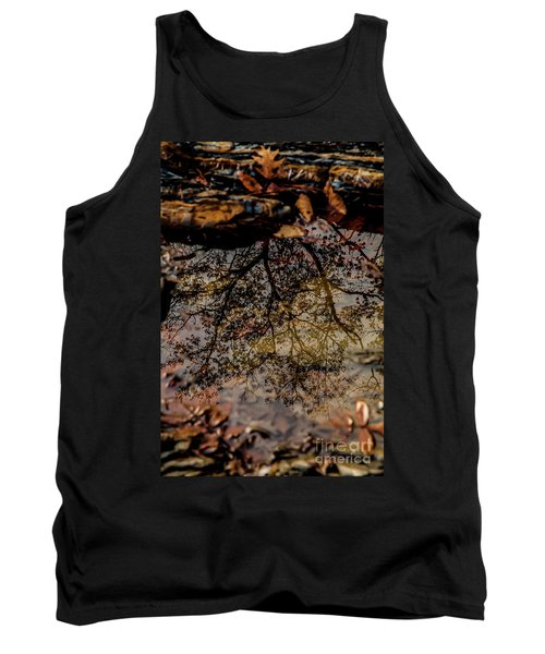 Tank Top featuring the photograph Tree's Reflection by Iris Greenwell