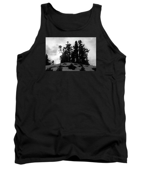 Trees Silhouettes Tank Top