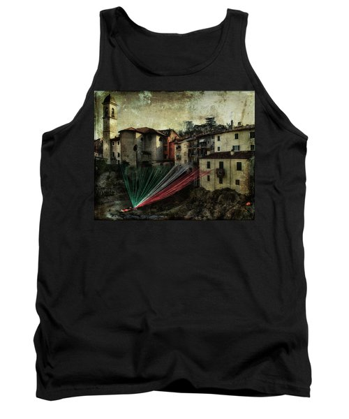 Tribute To Italy Tank Top