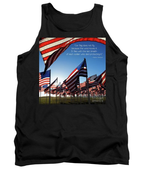 Tank Top featuring the photograph Thank You by Peggy Hughes