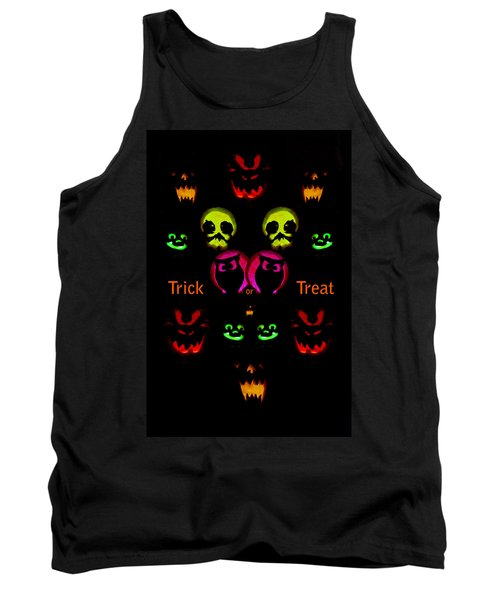 Tank Top featuring the photograph Trick Or Treat by Greg Norrell