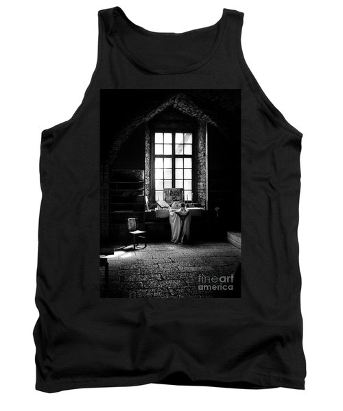 Tridentine Mass In An Ancient Chapel In The Old Dominican Monastery In Tallinn Tank Top