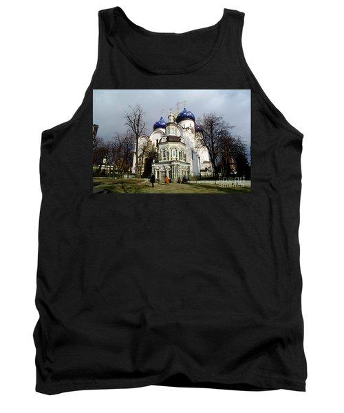 Trinity Lavra Of St. Sergius Russian Orthodox Churchsergiev Posad Tank Top by Wernher Krutein