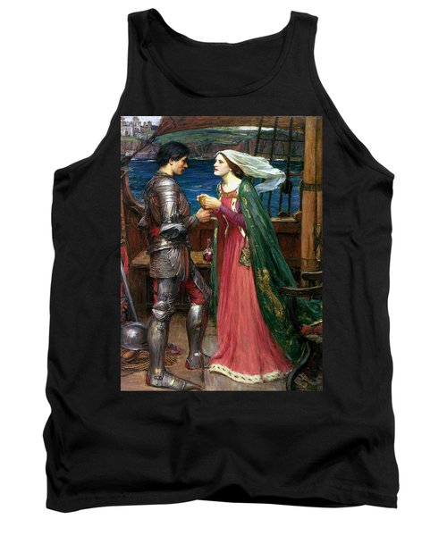 Tristan And Isolde With The Potion Tank Top