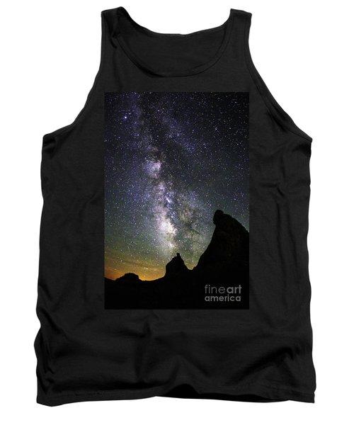Trona Pinnacles Milky Way Tank Top