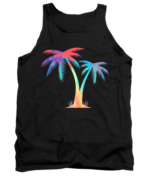 Tropical Palm Trees Tank Top