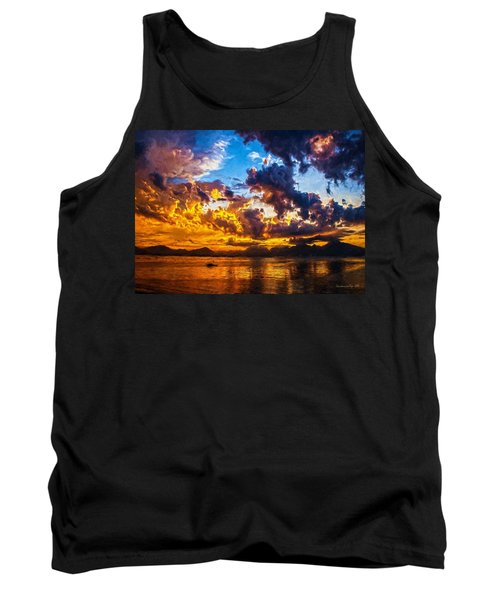 Tropical Twilight I Tank Top