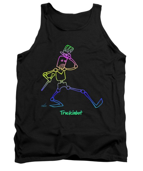 Truckinbot Tank Top