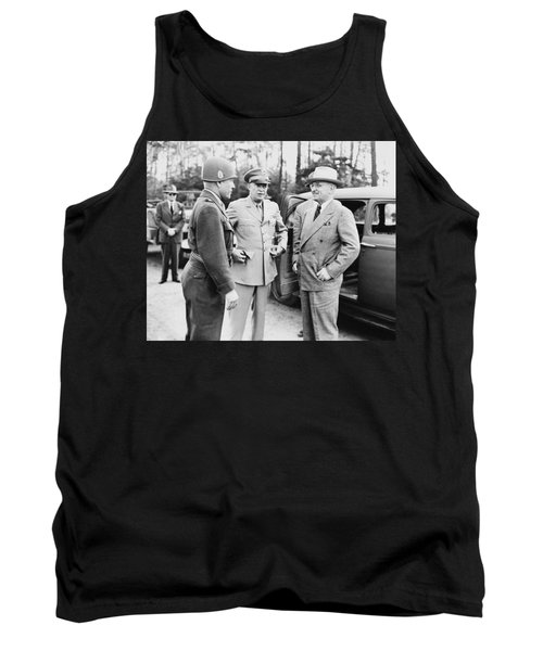 Truman Eisenhower And Hickey  Tank Top