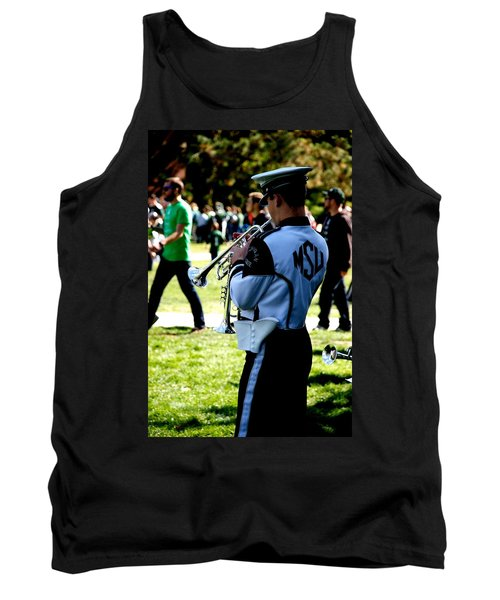 Trumpet Tank Top by Joseph Yarbrough