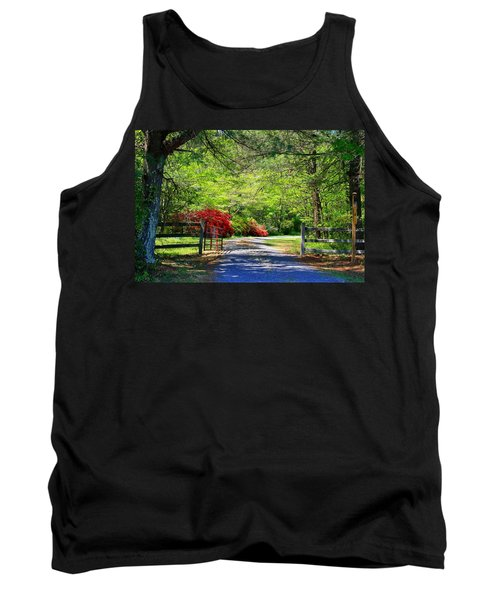 Tank Top featuring the photograph Tucked Away by Kathryn Meyer