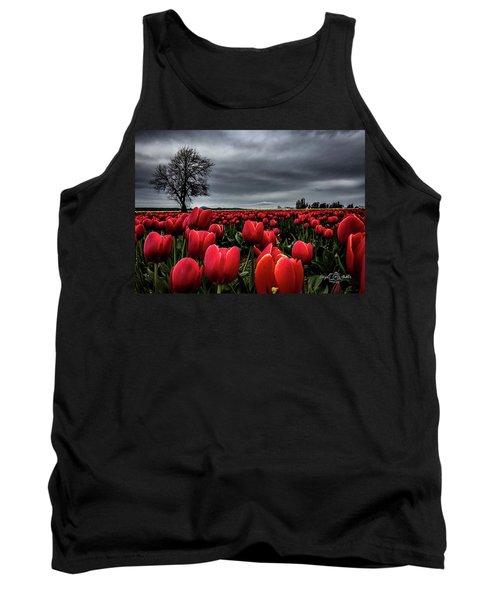 Tulip Fields Tank Top