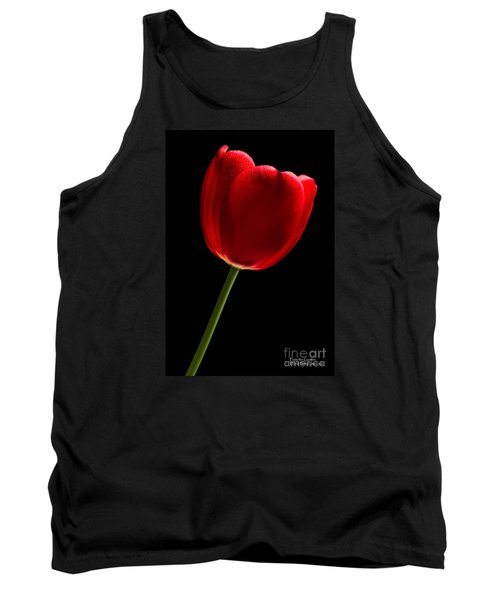 Tank Top featuring the photograph Red Tulip No. 2 By Flower Photographer David Perry Lawrence by David Perry Lawrence