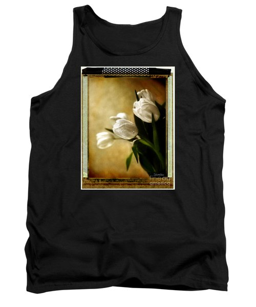 Tulip Side Sepia Tank Top