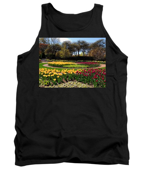 Tulips In The Spring Tank Top by Teresa Schomig